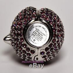 Estee Lauder Plum Compact Pour 1998 Parfum Solide Collection Nouveau Avec Toutes Les Boîtes