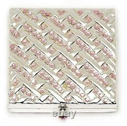 Estee Lauder Poudre Compact 2004 Chandelier Rose Promesse Mibb