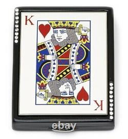 Estee Lauder Poudre Compact 2006 King Of Hearts Mint Condition
