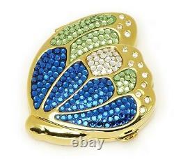 Estee Lauder Poudre Compact Glitter Bugs Butterfly Dans Original Box
