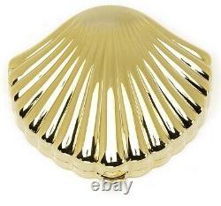 Estee Lauder Poudre Compact Golden Poli Shell Mint Condition