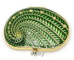 Estee Lauder Poudre Compact Shore Things Green Shell Mint Condition