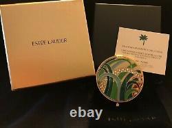 Estee Lauder Poudre Compacte 2014 Fondation Conservation De Palm Beach Mib