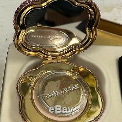 Estée Lauder Poudre Compacte Hummingbird Collection Nouveau Dans La Boîte Glitz & Glam
