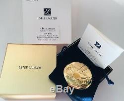 Estee Lauder Poudre Compacte Lucidity Gold Edition Limitée Libra Zodiac Gold