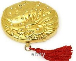 Estee Lauder Poudre De Parfum Solide Compact Lucky Golden Dragon Mib