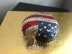 Estee Lauder Poudre Pressée Lucidity Heart Of USA Compact 0,1 Oz Nib