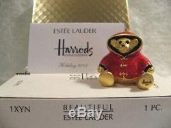 Estee Lauder Pour Harrods 2003 Ours De Vacances Parfum Solide Compact Mibb 1/400
