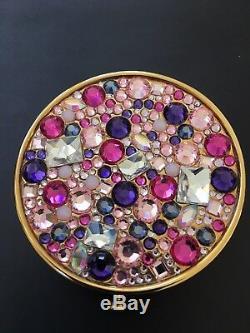 Estee Lauder Powder Compact 2013 Nuit Étoilée Rose Magnifique Exceptionnel