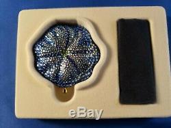 Estée Lauder Powder Compact Bermuda Blue Blossom. Both Boxes Gorgeous Nouveau Complet
