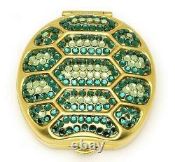 Estee Lauder Powder Compact Glitter Bugs Tortoise Dans La Boîte Ou Les Boîtes Originales