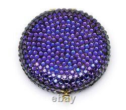 Estee Lauder Powder Compact Glitterball Heliotrope Nouveau Dans Les Deux Boîtes