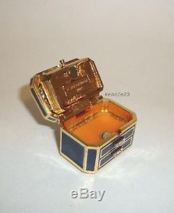 Estee Lauder Precious Jewels Parfum Solide Compact Tuberose Gardenia 2014 Plume