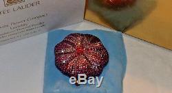 Estée Lauder Prismatiques Fleur Cristal Compact Poudre Compacte Lucidity Nouveau Dans La Boîte