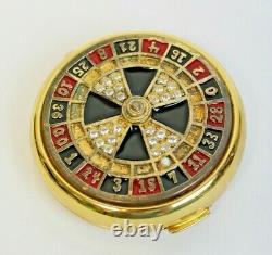 Estee Lauder Roulette Wheel Las Vegas Lady Luck Lucidity Powder Compact
