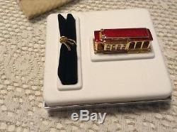 Estee Lauder San Francisco Trolley Parfum Solide Compact, Pleasures Mib