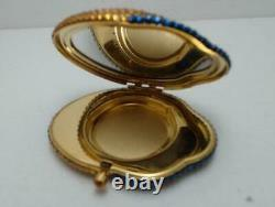 Estee Lauder Sea Stars Blue Fish Swarovski Cristaux Collectible Lucidity Compact