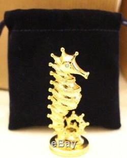 Estée Lauder Seahorse Compact Parfum Solide Marque New Boxed