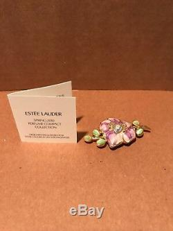 Estee Lauder Sensuous Spring 2010 Parfum Vibrant Violet Compact Jay Strongwater