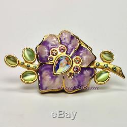 Estée Lauder Sensuous Vibrant Violet Parfum Solide Compact Par Jay Strongwater
