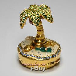 Estee Lauder Shimmering Oasis Compact Pour Parfum Solide 2003 Collection Nib