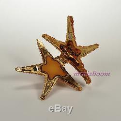 Estée Lauder Shimmering Starfish Parfum Solide Compact 2007 Nouveau Dans La Boîte