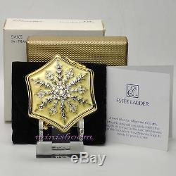 Estee Lauder Snow Fling Compact Lucidité Poudre 0,1 Oz 2,8 G 2005 Collection