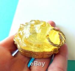 Estee Lauder Snow Lion Solide Parfum Compact Rare