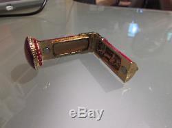 Estee Lauder Solid Parfum Compact Harrods London Boîte Aux Lettres Britannique Rare Nouveau