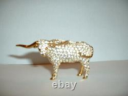 Estee Lauder Solid Parfum Compact Shimmering Steer Mib
