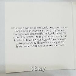 Estee Lauder Solid Perfume Compact 2020 Année De L'ox Mibb