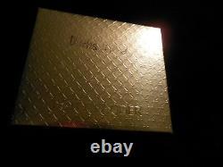 Estee Lauder Solid Perfume Compact Rare Dachshund Connaissant Mib