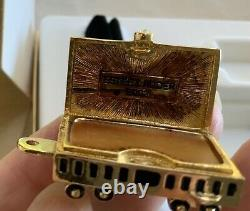 Estee Lauder Solide Parfum Locomotive Train & Gold Compact Prix Réduit