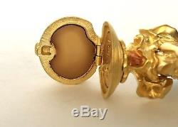 Estee Lauder Sparkling Mermaid Parfum Solide Pleasures Compact Withboxes Tag