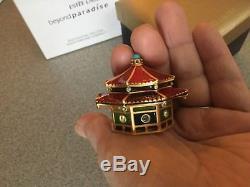 Estee Lauder Strongwater Enchanting Pagoda Parfum Solide Compact 2005