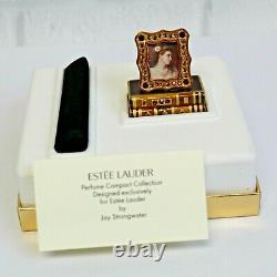 Estee Lauder Strongwater Romantic Edition 2002 Solid Parfum Compact Mibb