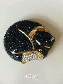 Estee Lauder Swavorski Crystal Kitty Lucidity Compact
