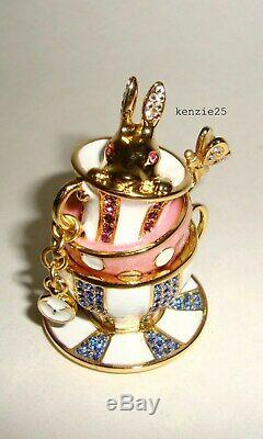 Estee Lauder Tea Party Wonderland Parfum Solide Compact 2018 Teacup Vider Ub