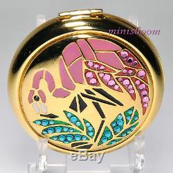 Estée Lauder Tropical Mosaic Flamingo Compact 2002 Lucidité Poudre 0,1 Oz 2,8 G