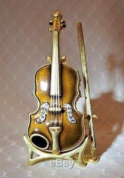 Estee Lauder Violin Youth Dew Parfum Solide Compact 2001 Parfait Magnifique