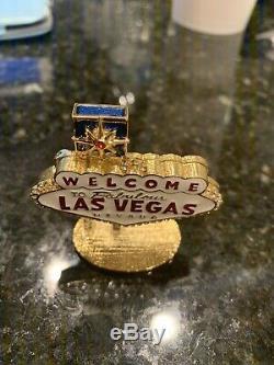 Estee Lauder Viva Las Vegas Compact Pour 2005 Parfum Solide Collection- Rare