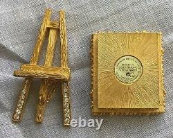 Estee Lauder Week-end Artiste Solide Parfum Compact 2002-rare