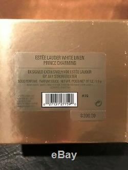 Estée Lauder White Linen 2002 Prince Charmant Parfum Compact Jay Strongwater