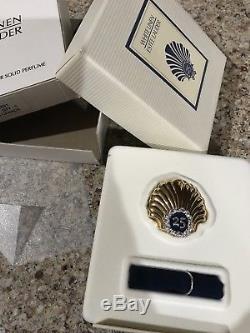 Estée Lauder White Linen 2003, 25 Ans Anniversaire, Parfum Compact, Nouvelle Coquille Saint-jacques