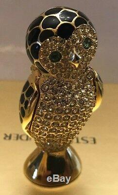 Estee Lauder Wise Owl Compact Pour Parfum Solide Brand New Boxed