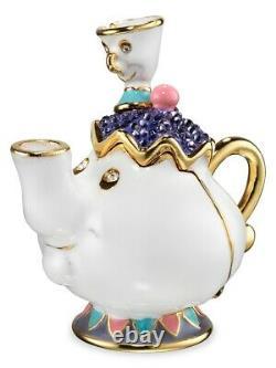 Estee Lauder X Disney Belle Belle Mieux Ensemble Parfum Compact 20's Nib