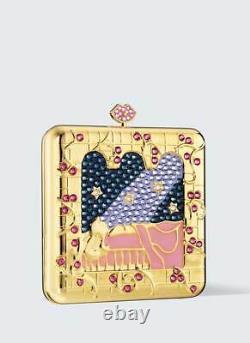 Estee Lauder X Disney Once Upon A Dream Powder Compact Par Monica Rich Kosann Nib