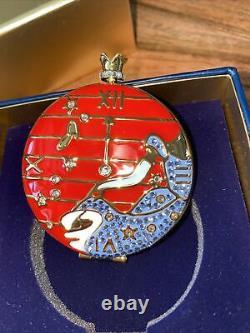 Estee Lauder X Disney Quand L'horloge Frappe Douze Poudre Compacte Par Monica Nib