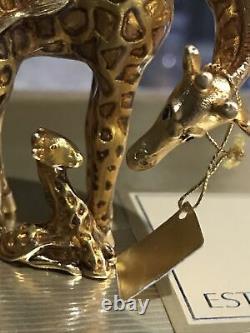 Estee Lauder Youth Dew 2002 Gilded Giraffe Parfum Compact Nouveau Dans La Boîte