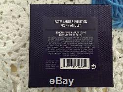 Excellente 2004 Estée Lauder Intuition Acorn Amulette Parfum Solide Compact En Boîte